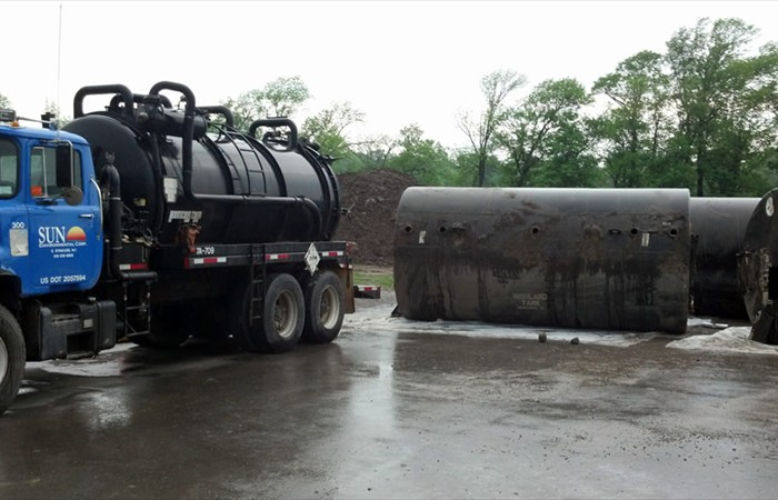 Sun Environmental Corporation Industrial Tank Removal