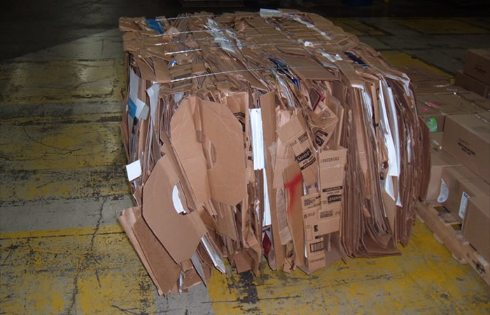 Cardboard Removal and Recycling